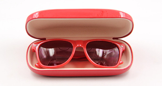 I6129 Women Metal sunglasses case
