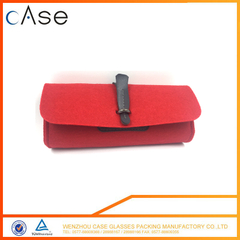 2017 best and unusual hot selling fancy felt soft storage bag