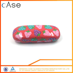 CHINA cute hard kid carrying box for eyeglasses case with strawberry