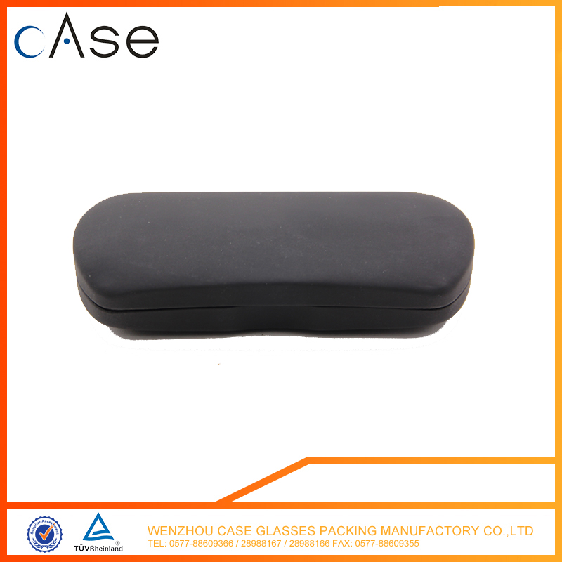 black hard glass carrying case