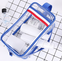 Portable large-capacity pvc handbag set Travel storage men's finishing storage bag outdoor waterproof wash bag