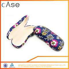 Factory Supply Personalized logo Hot -printing microfiber+sponge reading glasses case