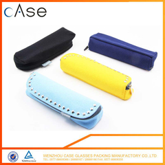 2017 rivet personalized Colorful sunglasses case pattern