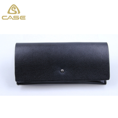 2017 fashion leather sunglasses bag