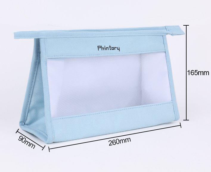 New Korean version of environmentally friendly travel cosmetic bag multi-function cotton travel storage bag multi-color portable cosmetic bag