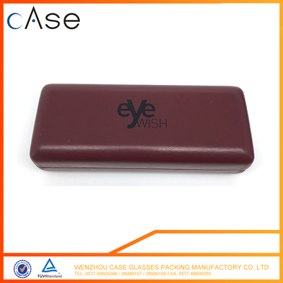 Made in China metal leather optical glasses cases