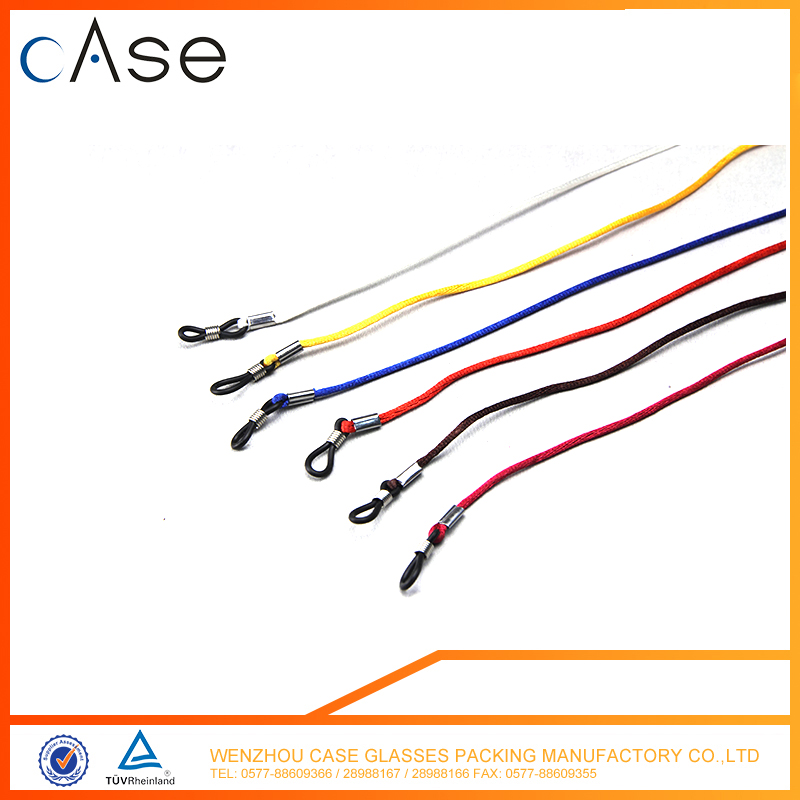 E123 WenZhou colorful sunglasses strings/sunglasses cords