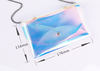 Environmentally friendly tpu laser cosmetic bag fashion transparent chain bag female single shoulder simple wild Messenger bag creative new