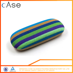 Hard optical eyeglasses cases wrapped by cotton