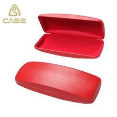top quality customized size silver metal glasses case