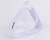 Pvc cosmetic bag transparent waterproof portable triangle storage bag wash travel portable multi-function finishing package