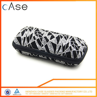 2017 EVA manufacturer custom color and eyeglass sunglasses case