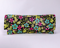 2021 Glasses Case Sunglasses A Colored-printed Eyeglass Case That Resembles A Leather Bag