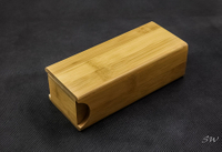 2021 Sunglasses, Light Brown Wooden Glasses Case, Appearance Like A Small Drawer, The Design Is Small, Simple, Convenient