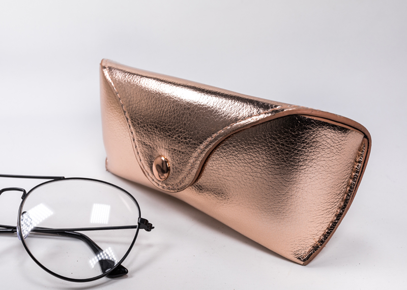 2021 Glasses Case Sunglasses Gold Glasses Case Shaped Like A Wallet