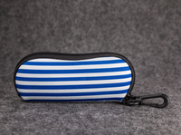 2021 Sunglasses, Two Styles, Printed with Stripes And LOGO, Ziplock Soft Bag for Glasses