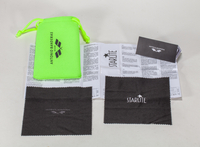2021 Sunglasses, LOGO Printed Glasses Case, Including Green Pocket And Black Wipes, Etc