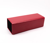 2021 Sunglasses, Red, Square, Detachable Handmade Case
