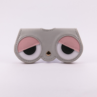 2021 Sunglasses, Cartoon Print, 5 Styles, Button Style Glasses Bag