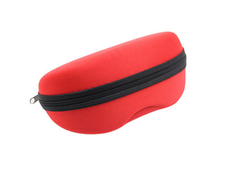 EVA glasses case with zipper H20